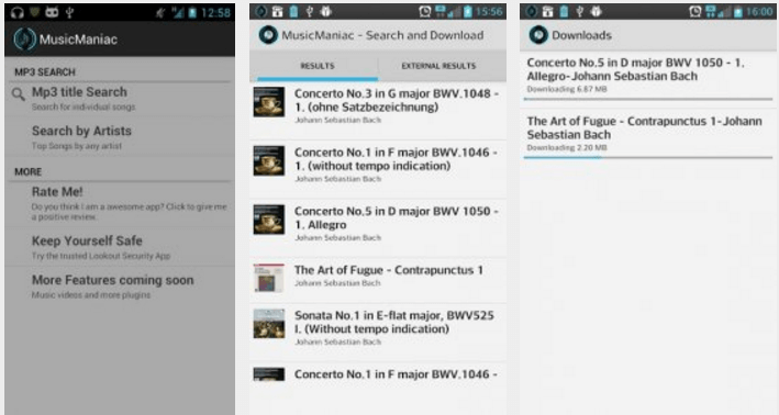Music Maniac Music Downloader Android