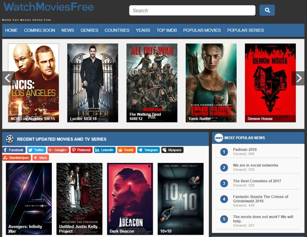 how to watch latest movies for free