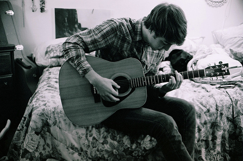 125 cool stylish profile pictures for facebook for boys with guitar