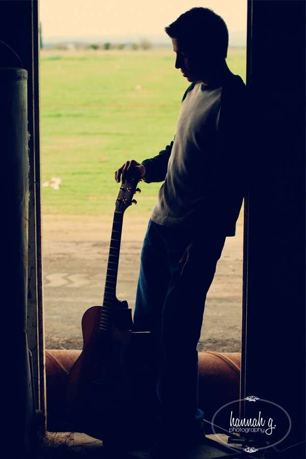 Facebook Boys Profile Picture With Stylish Guitar