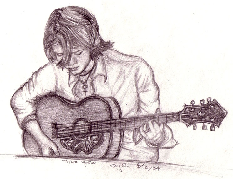 125+ Cool Stylish Profile Pictures for Facebook for Boys ... Boy With Guitar Drawing