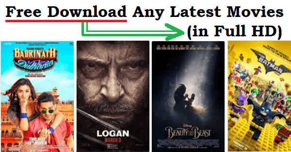 latest movies to download for free