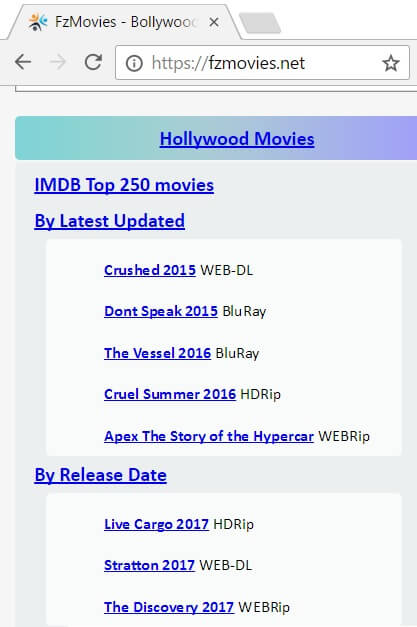 mobile movie sites free download