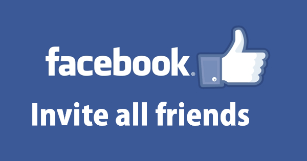 How To Invite All Friends To Like A Facebook Fanpage with Just One Click