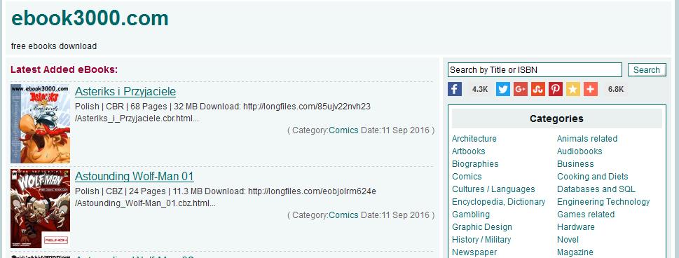 best warez sites for ebooks 2017