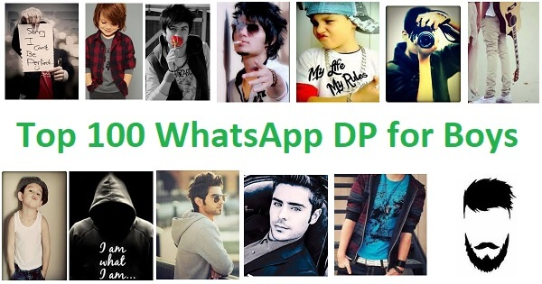 Top 100 Cool, Stylish WhatsApp DP and Profile Photos for Boys