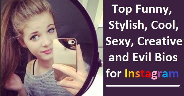 So, If You Are Searching For Any Cool, Funny Or Stylish Instagram Bio Then  Here We Are Showcasing 500+ Amazing Instagram Bio That You Can Use For Your  ...