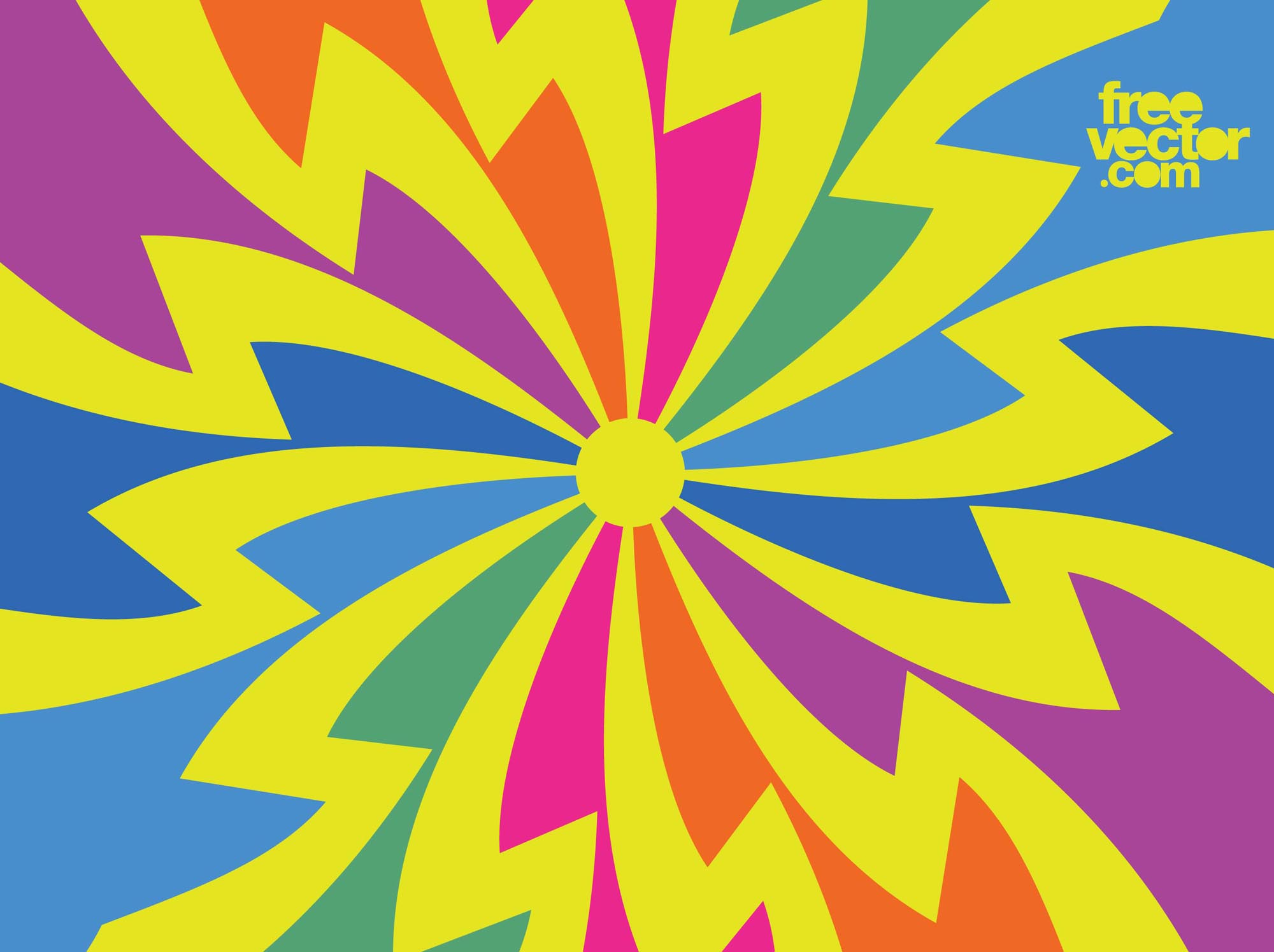 60s Psychedelic Background