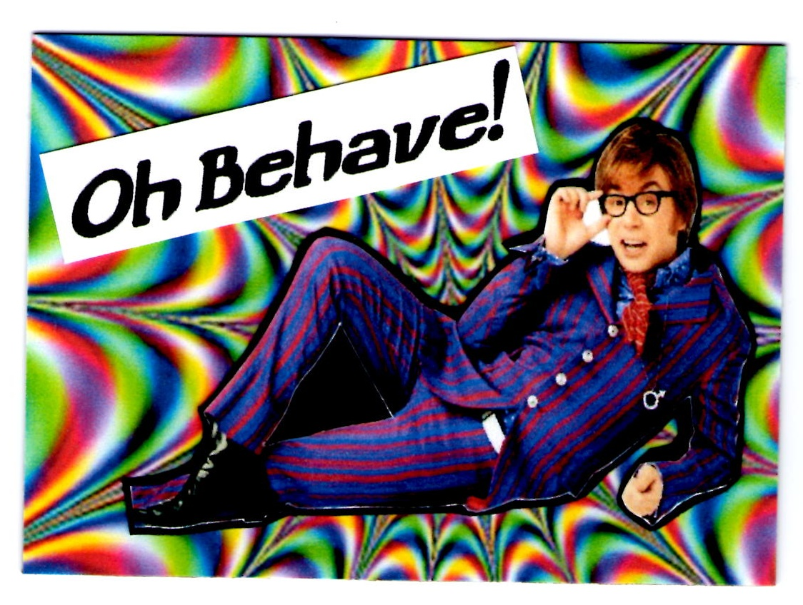 Austin Powers Psychedelic Background