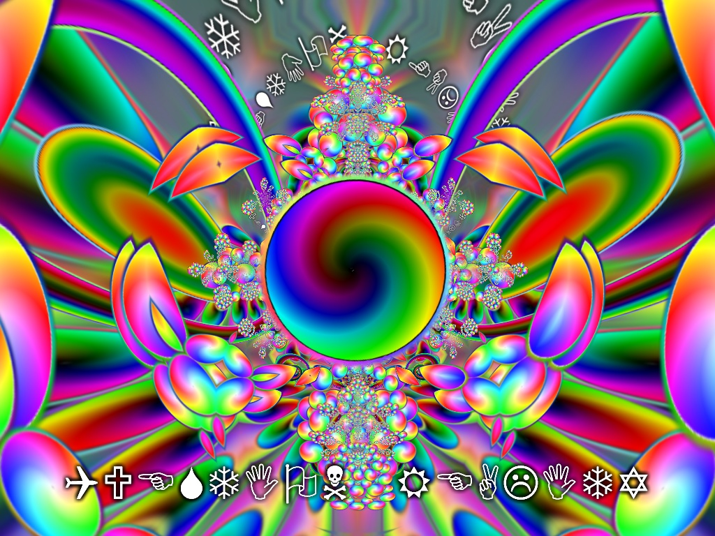 Best Color To Stand Out On Trippy Background
