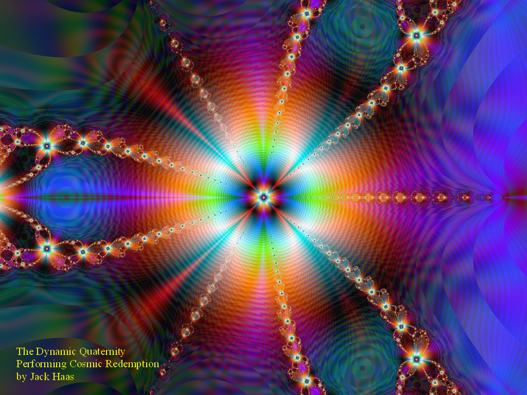 Celestial Psychedelic Background