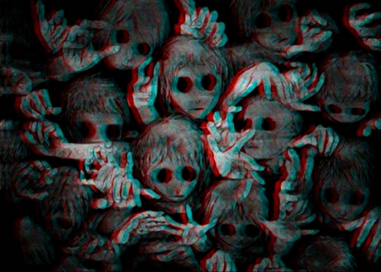 Creepy Psychedelic Wallpaper