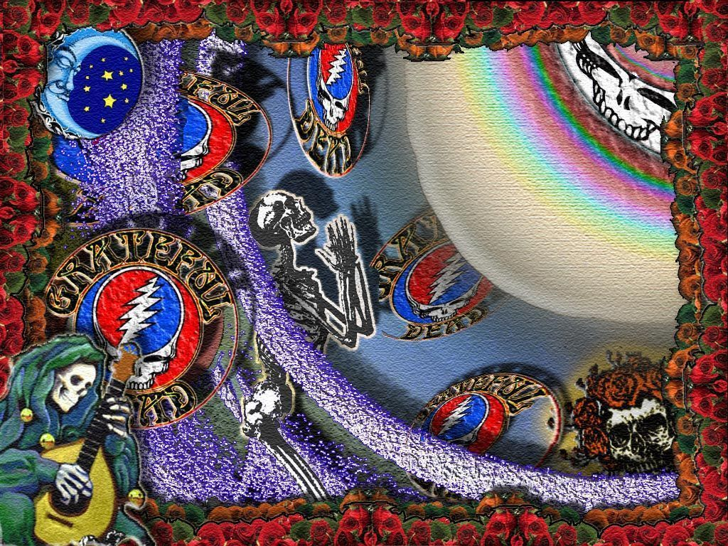 500 trippy wallpapers psychedelic background hd - Grateful dead screensavers free ...