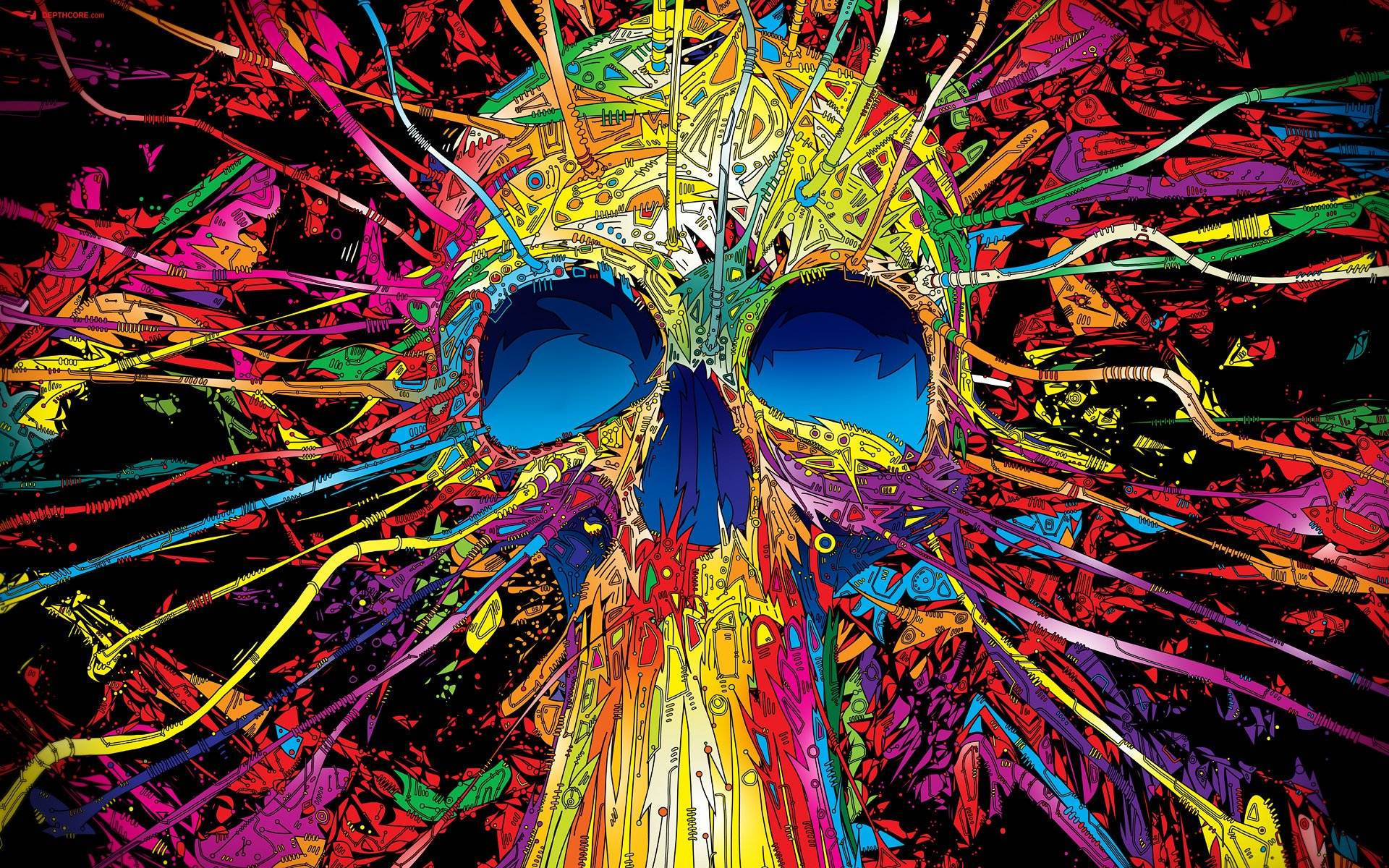 Hd Psychedelic Wallpaper
