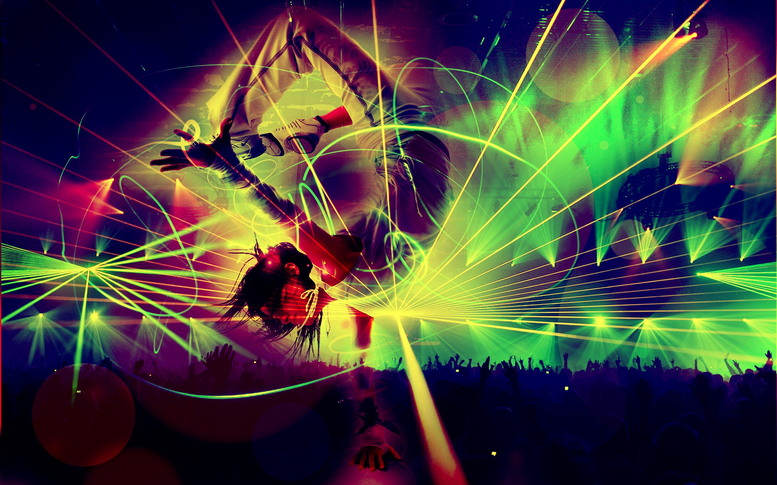 Hd Rave Psychedelic Wallpaper