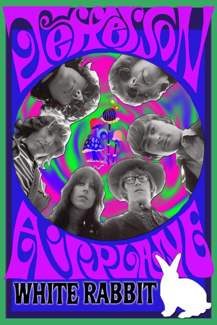 Jefferson Airplane Psychedelic Wallpaper Hd