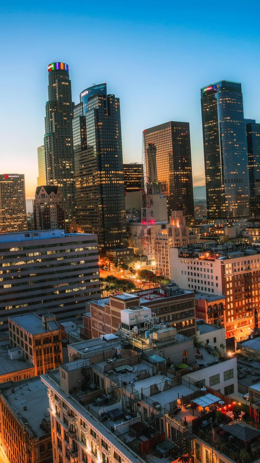 Los-angeles-california-night-iPhone-Wallpaper - iPhone ... |Los Angeles City Phone Wallpaper