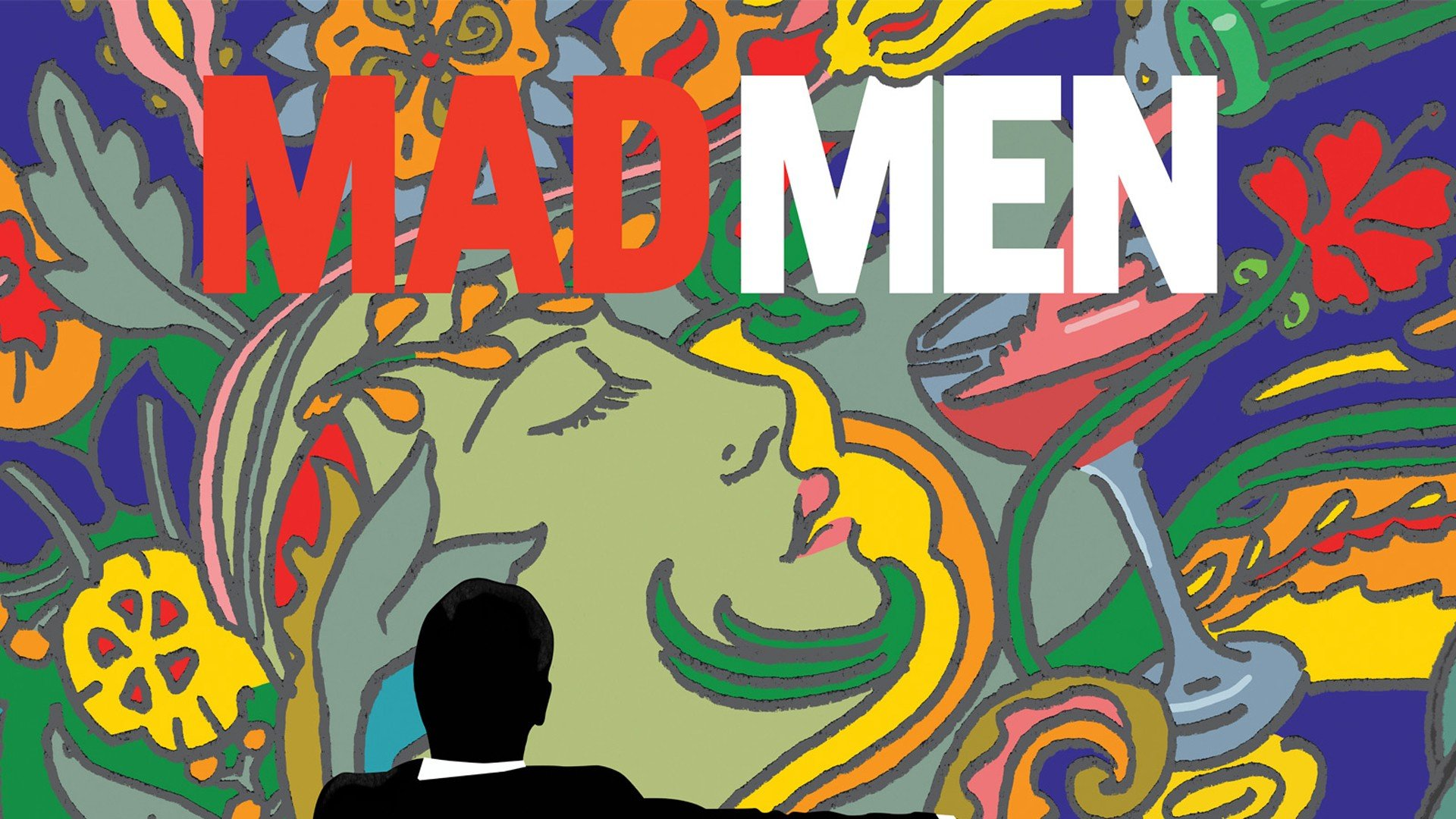 Mad Men Psychedelic Background