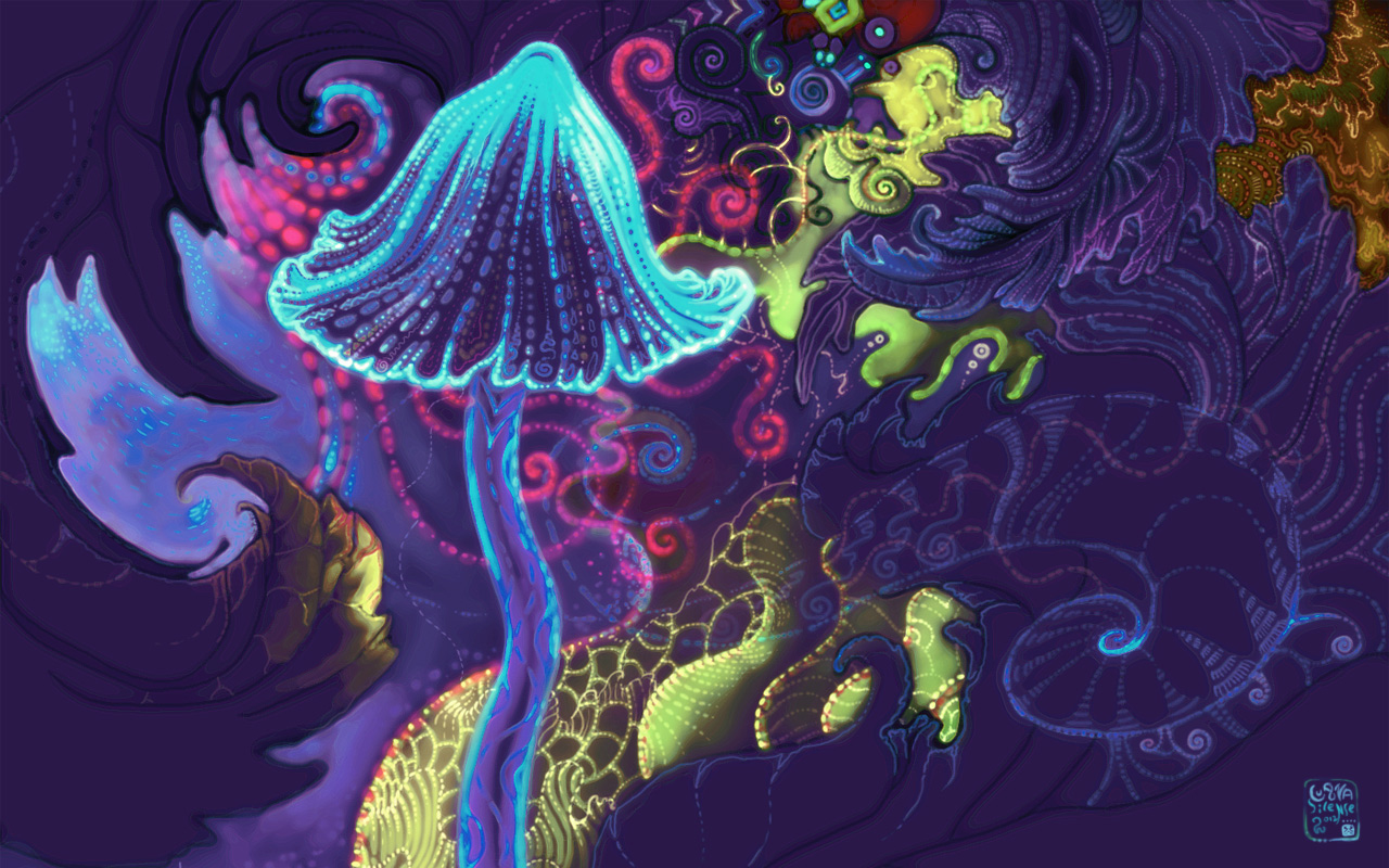Magic Psychedelic Wallpaper