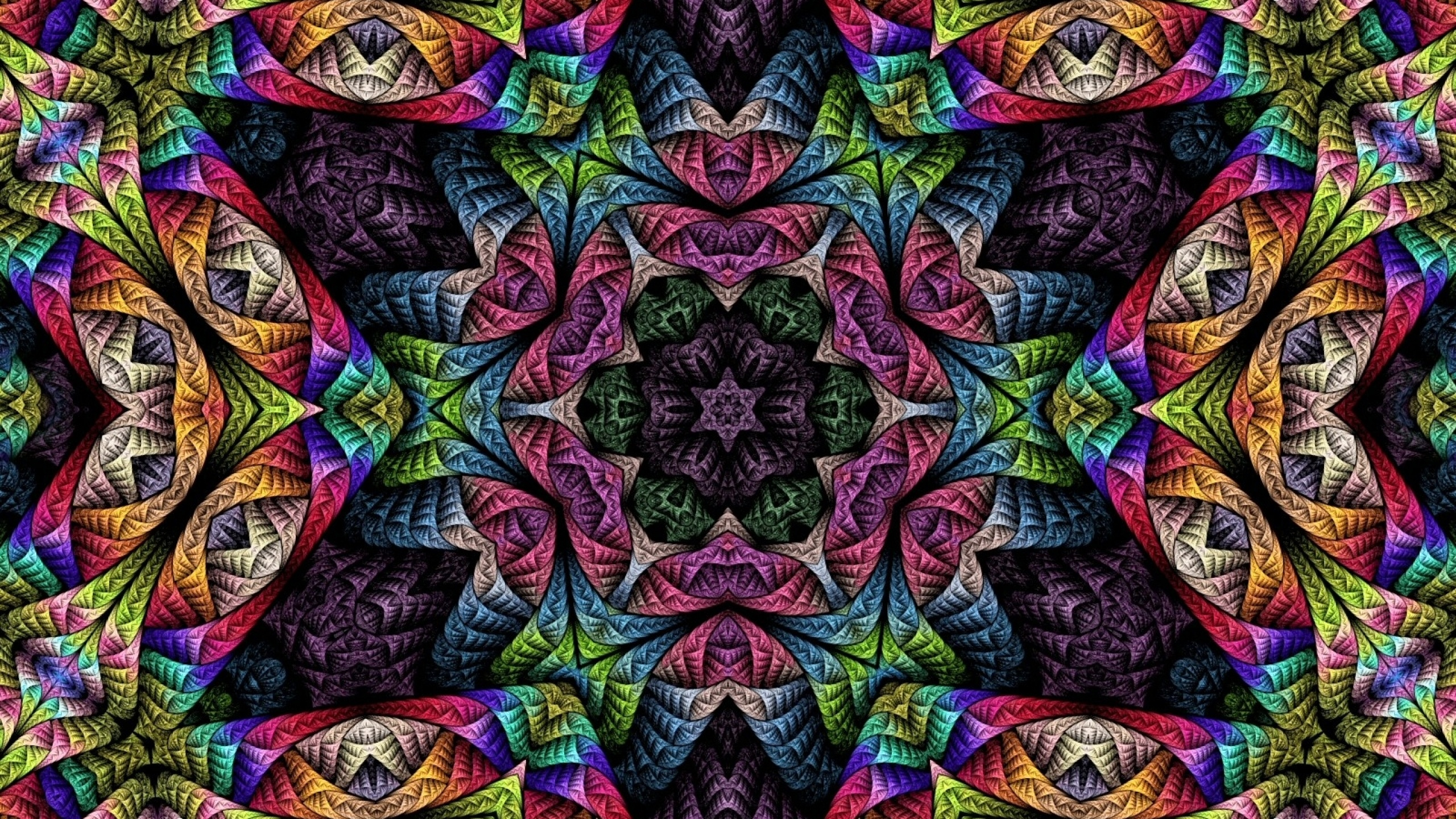 Psychedelic Background 2560x1440