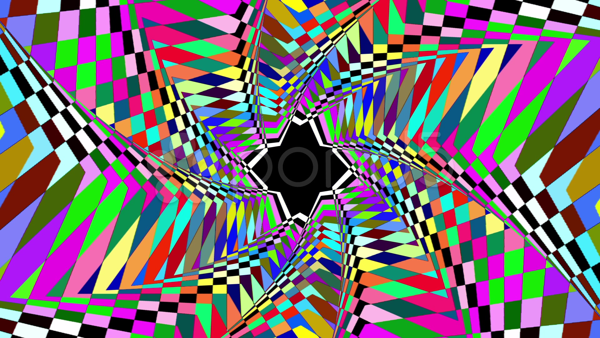 Psychedelic Background Animated