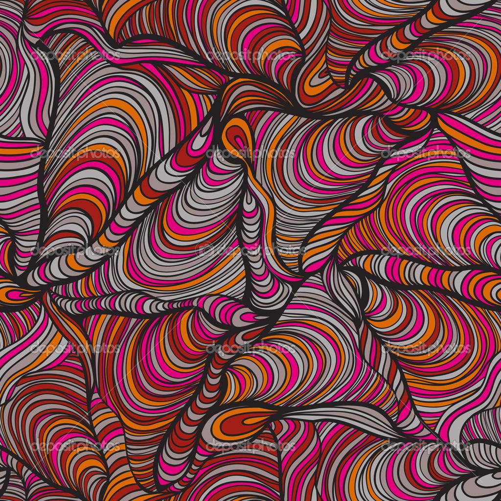 Psychedelic Background Pattern