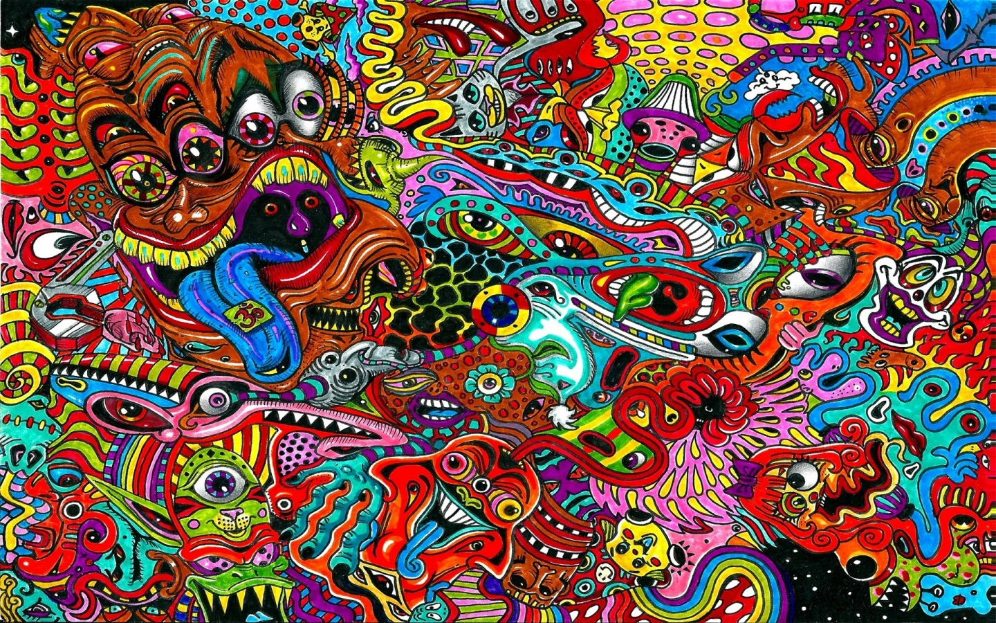 Psychedelic Wallpaper 1440x900