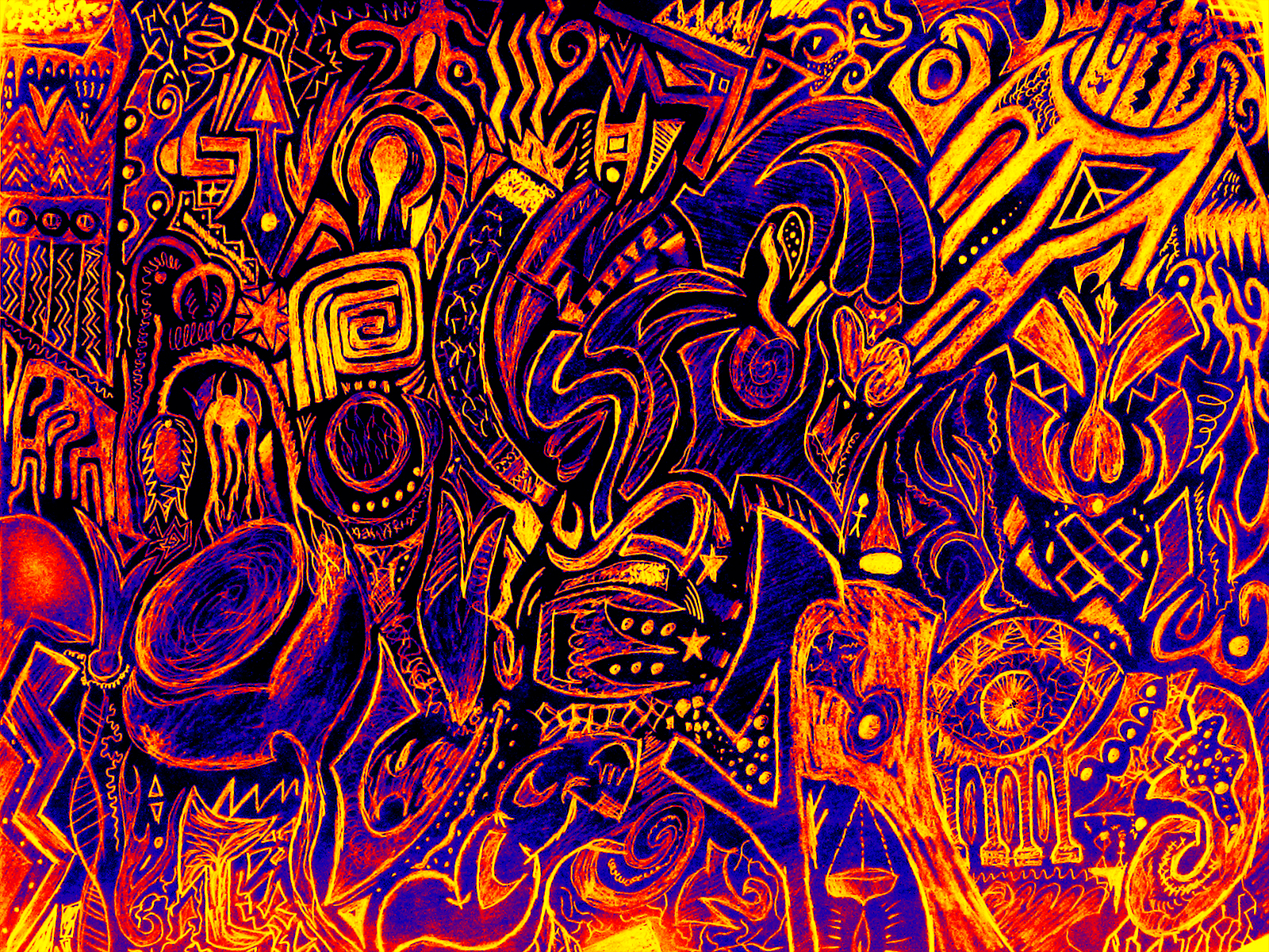 Psychedelic Wallpaper 1960