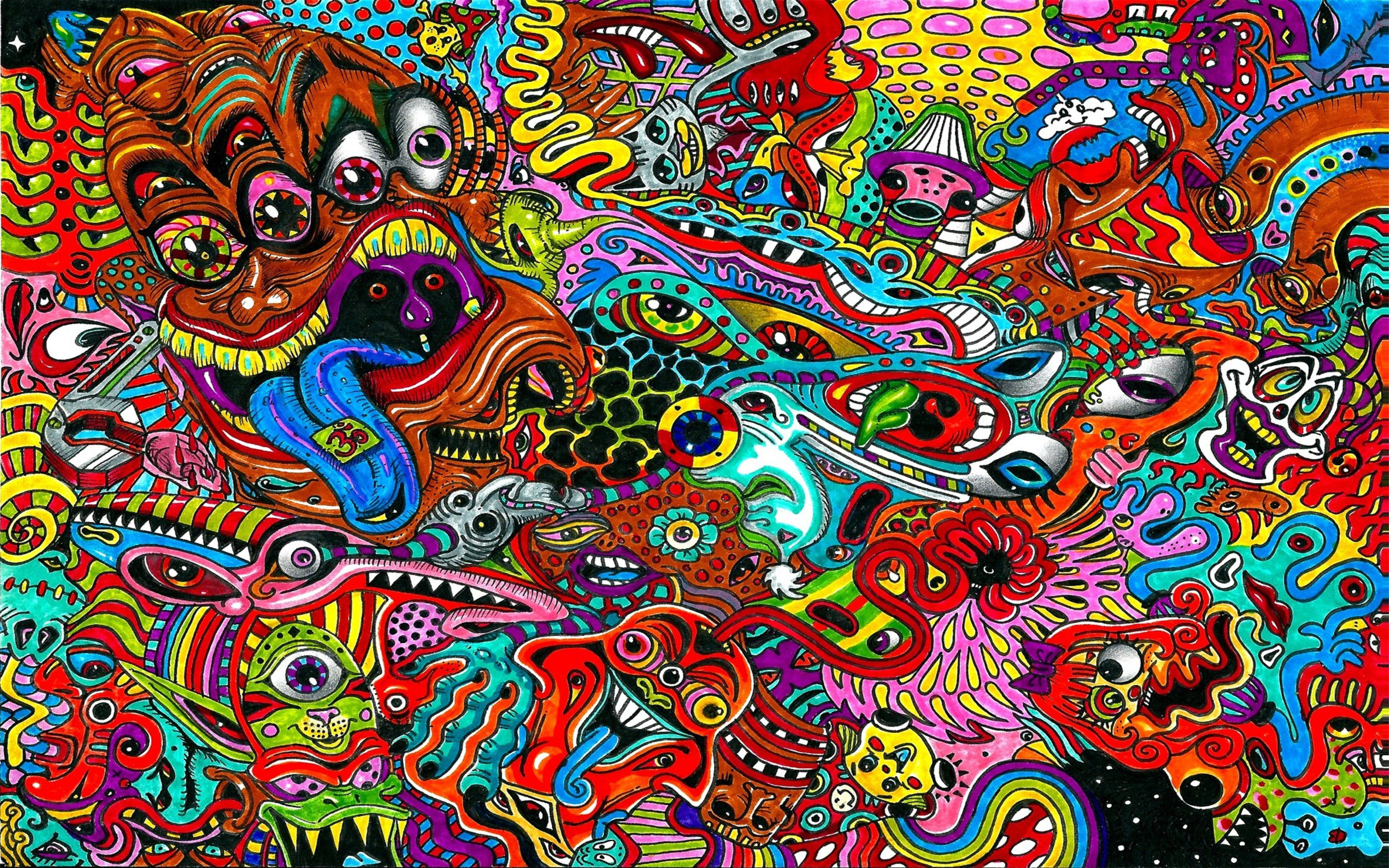 Psychedelic Wallpaper 2400