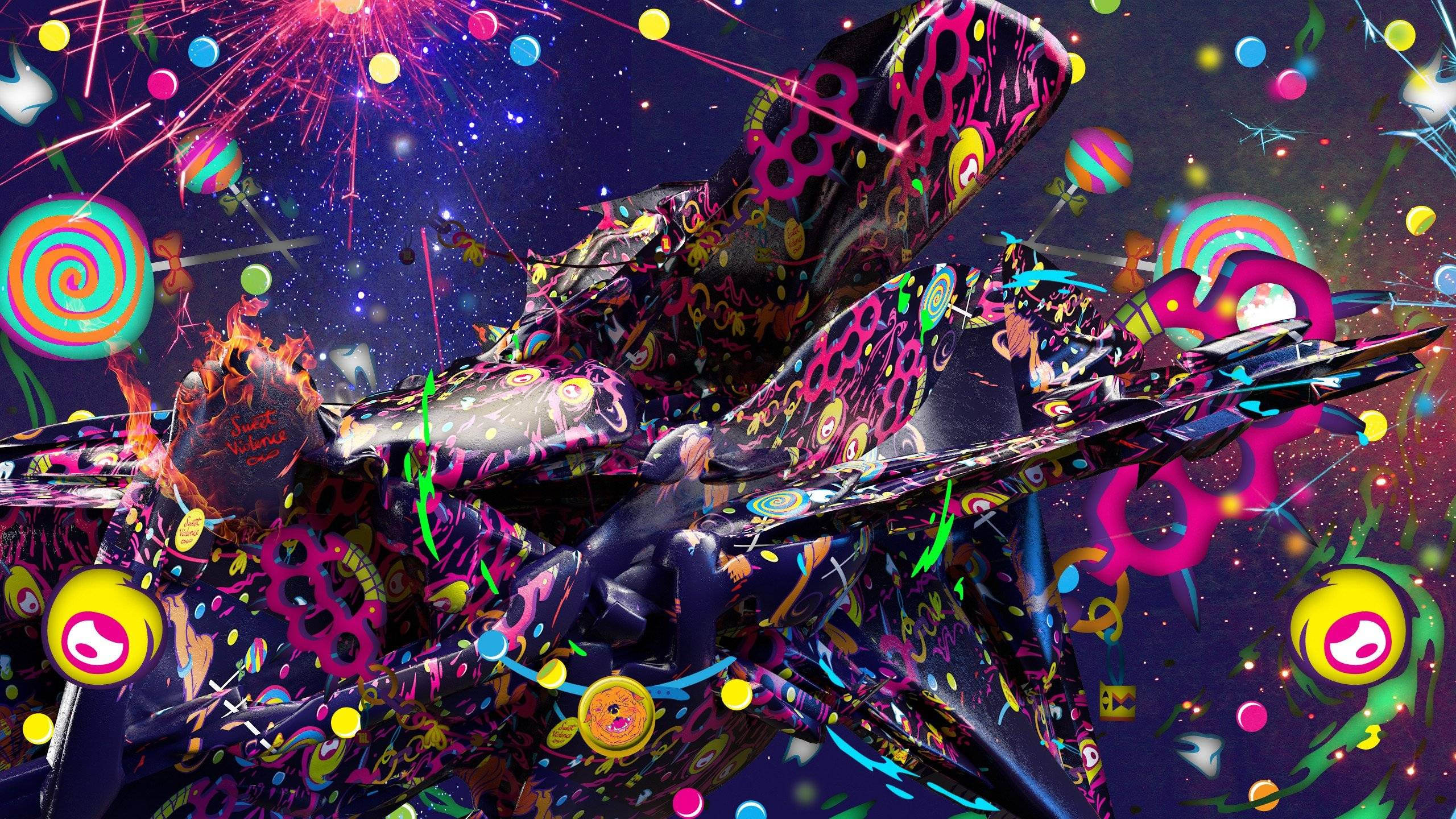 Psychedelic Wallpaper 2560 1440