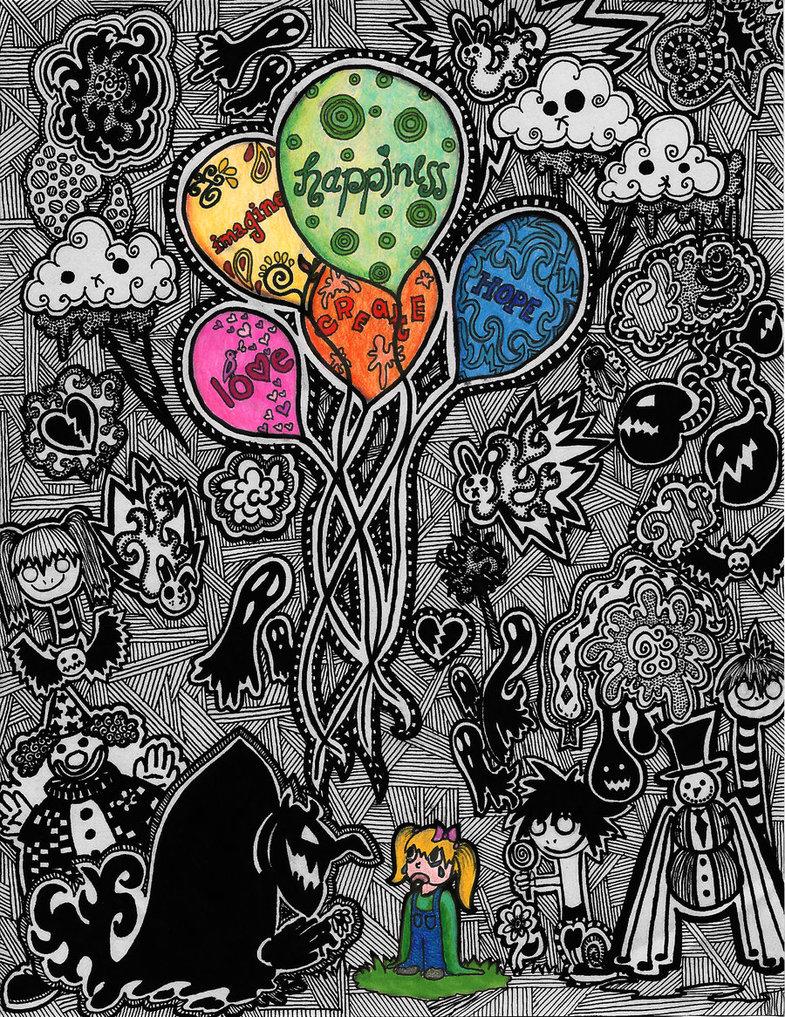 Psychedelic Wallpaper Good Vs Evil