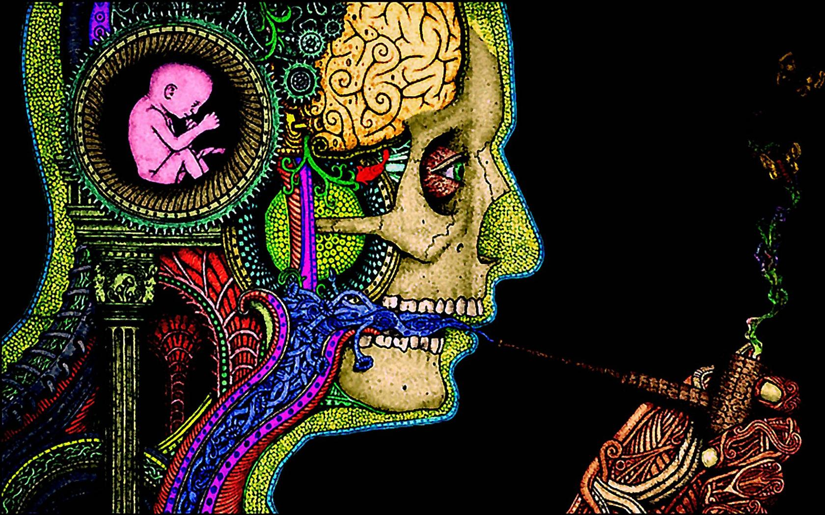 Psychedelic Wallpaper Hd Drugs