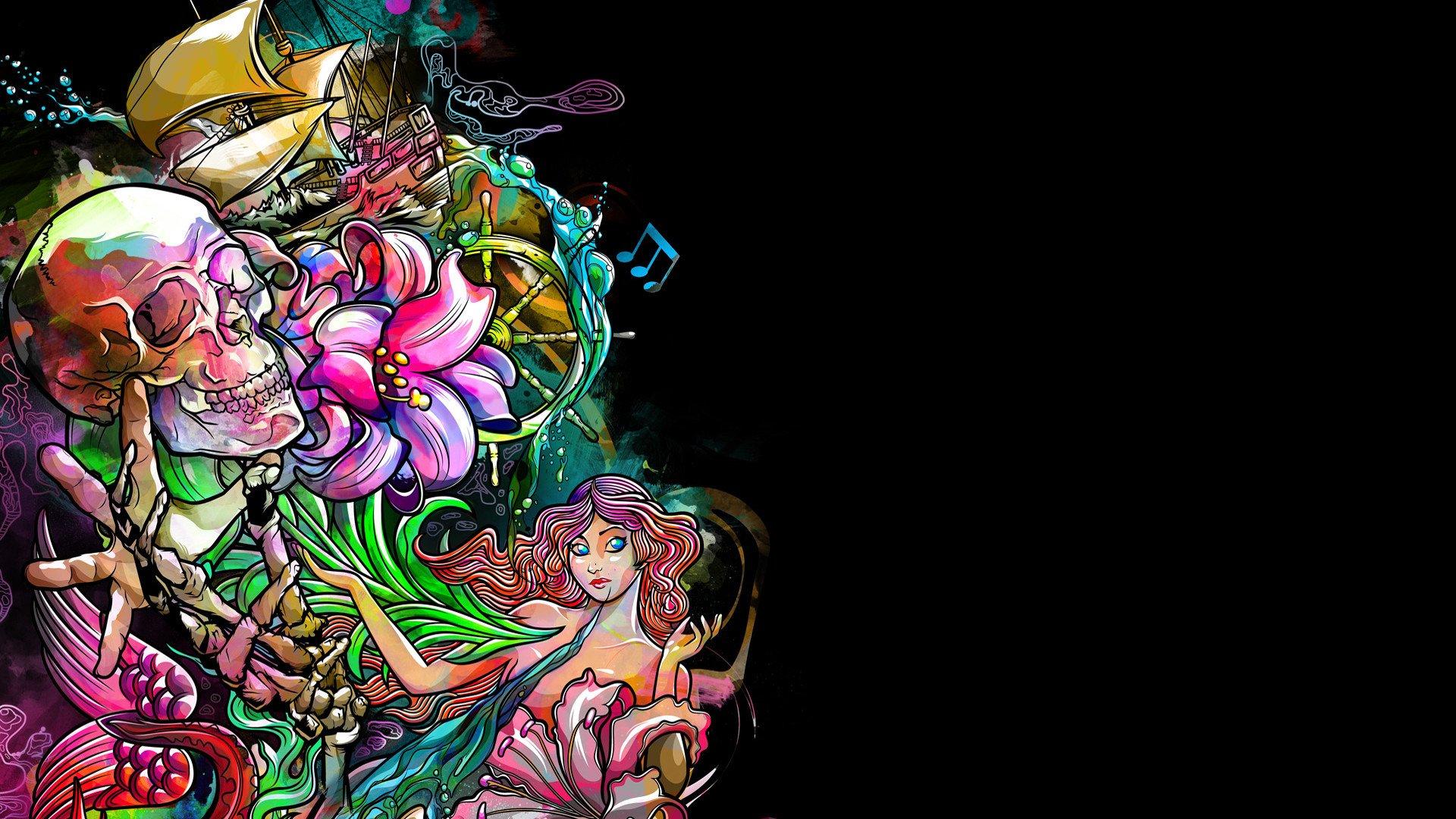 Psychedelic Wallpaper Mac Tatto