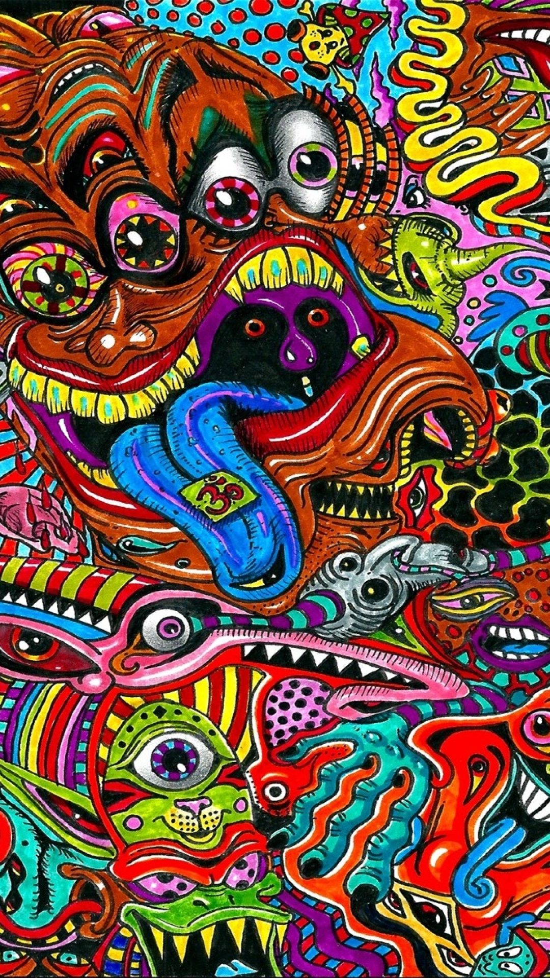Psychedelic Wallpaper Surreal