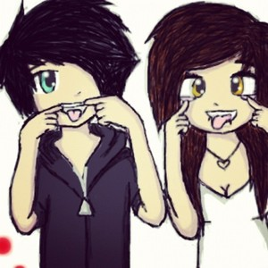Cute Cartoon Couple Image For Whatsapp Dp Secondtofirst Com