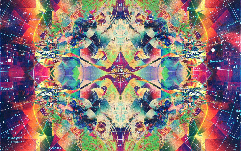 Sleep Psychedelic Background
