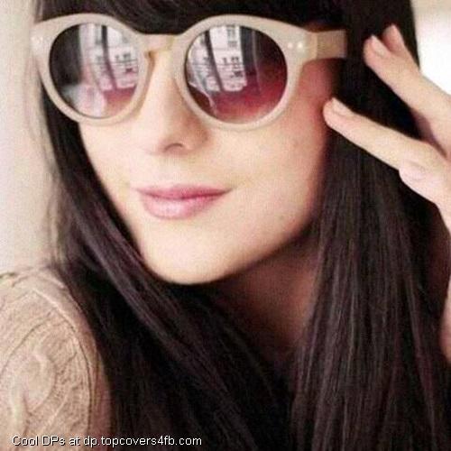 Girls Wearing Funny Glasses