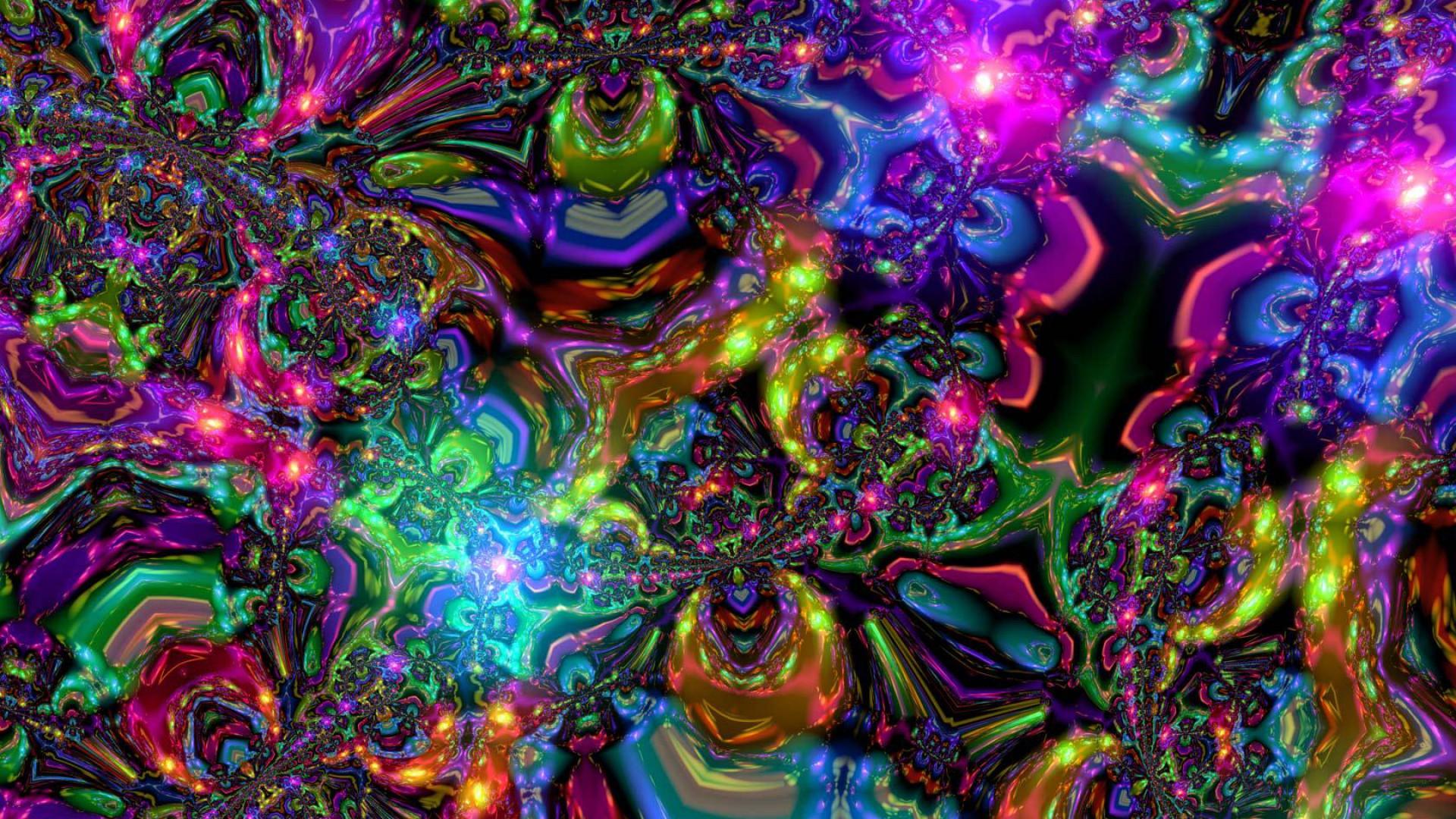 Trippy Background Artwork