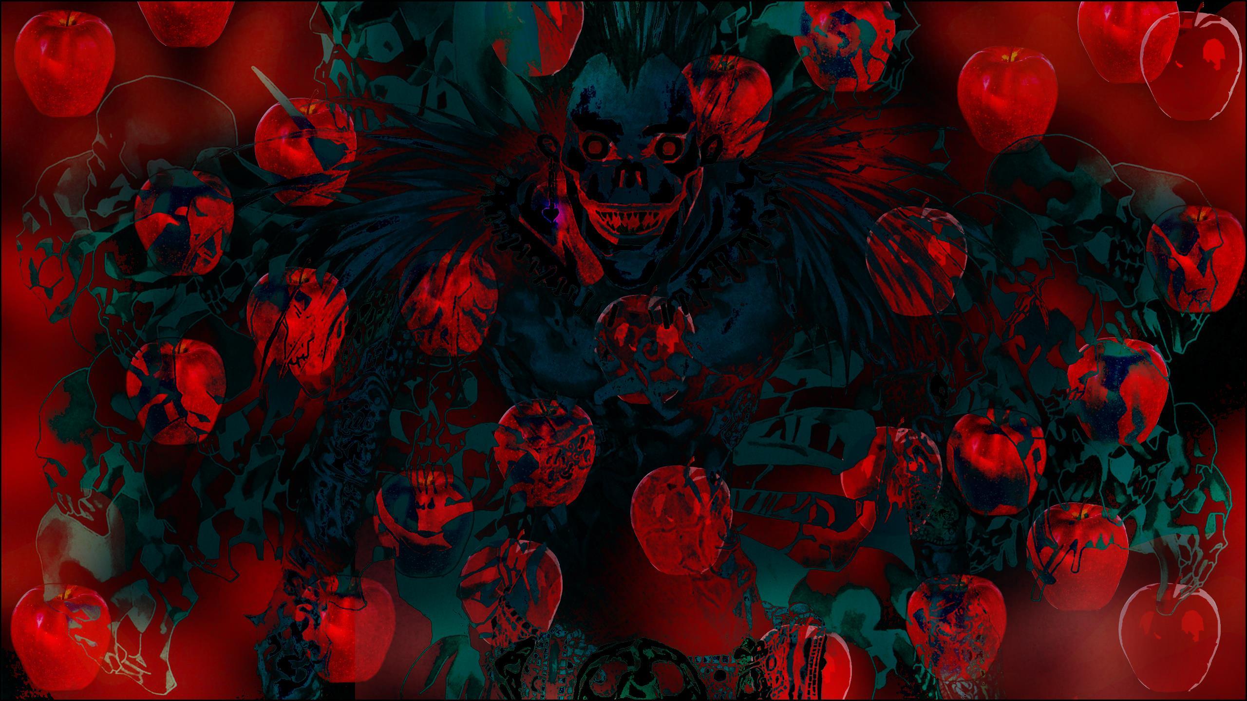 Trippy Background Death
