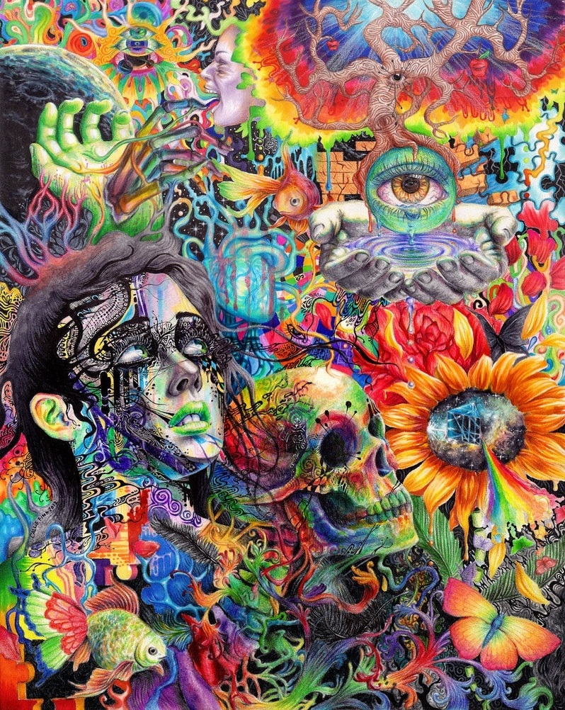 Trippy Background Images