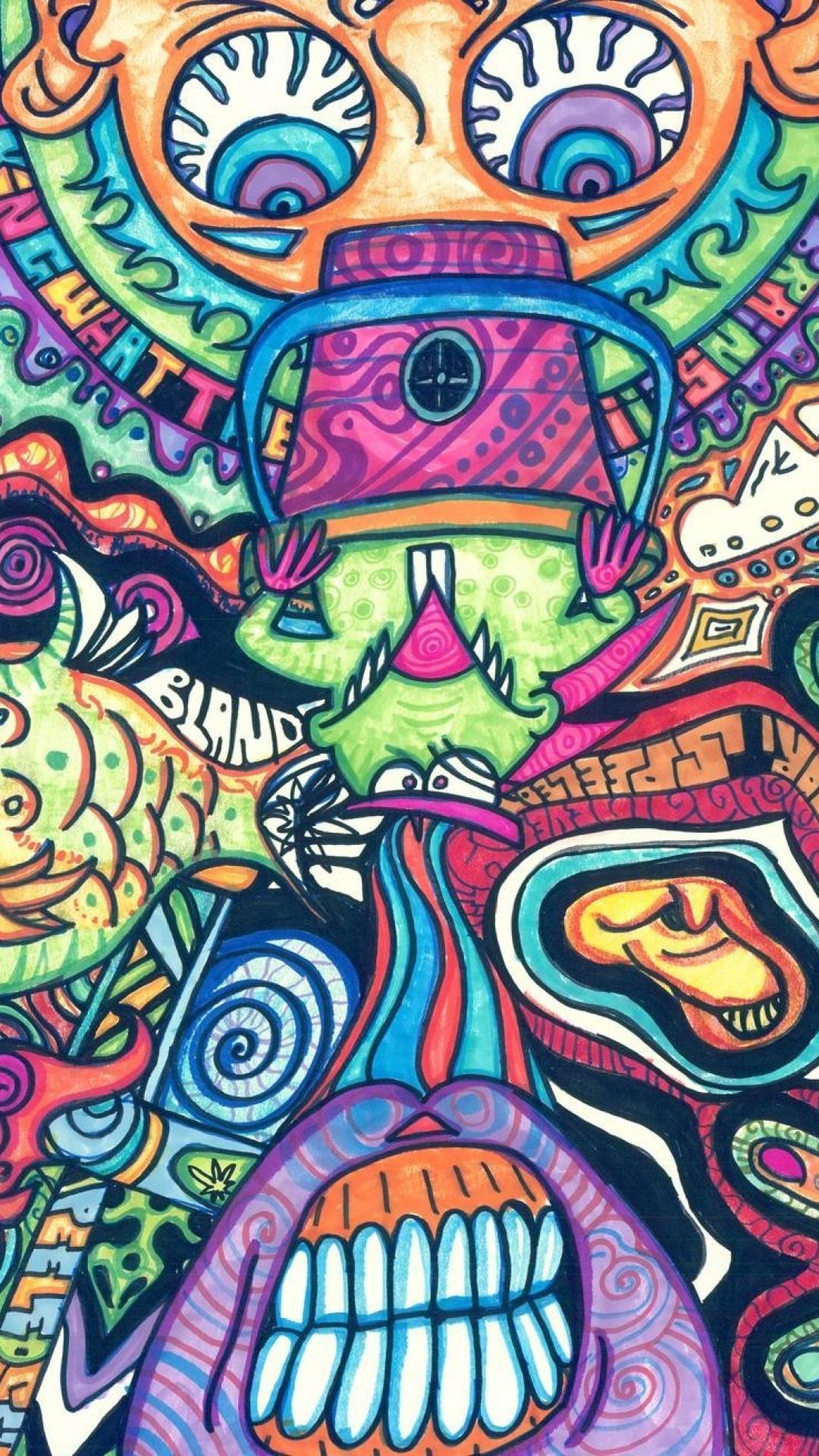 Trippy Wallpaper Iphone