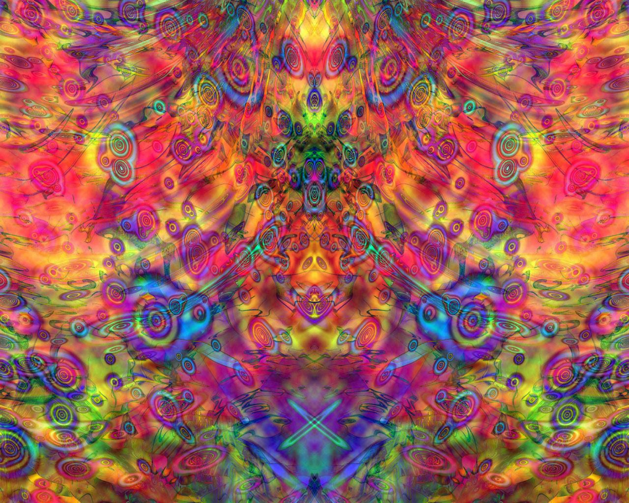 Trippy Wallpaper Melted