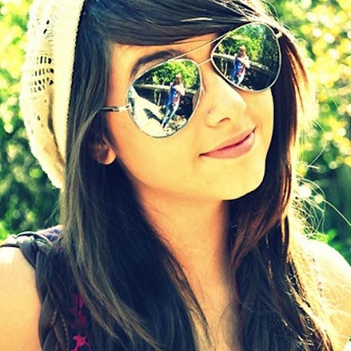 Girls cool profile pics