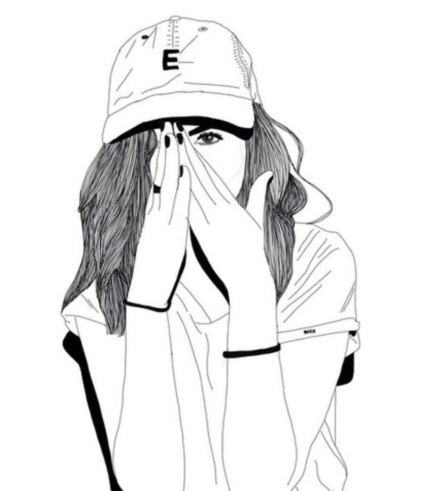 cool profile pictures tumblr d1a1580b6dbe6ae3c349b7b731cc6628 girl