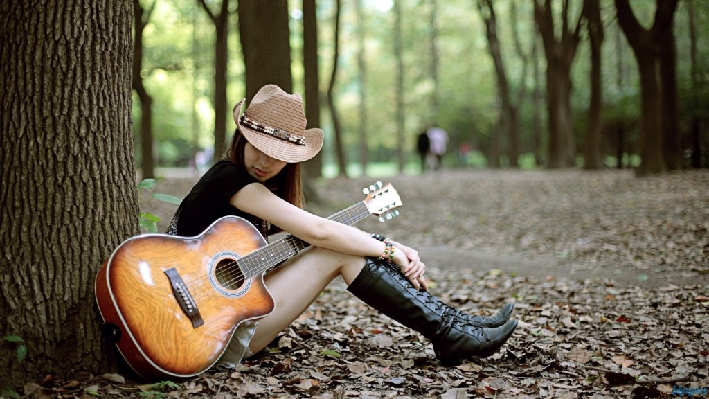 130 cool stylish profile pictures for facebook for girls with guitar