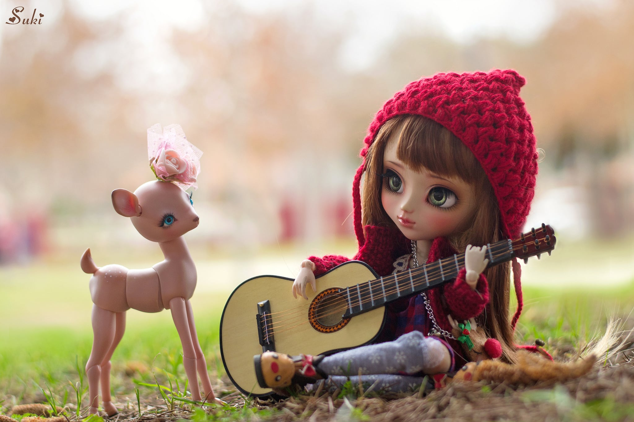 Facebook Girl With Guitar Cover Photo