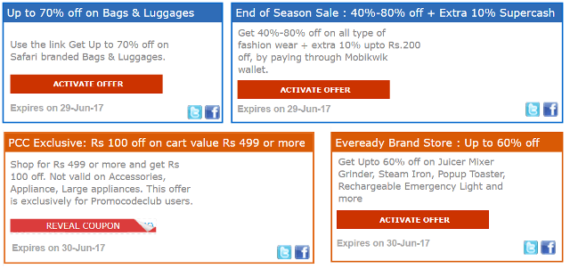shopclues discount offers