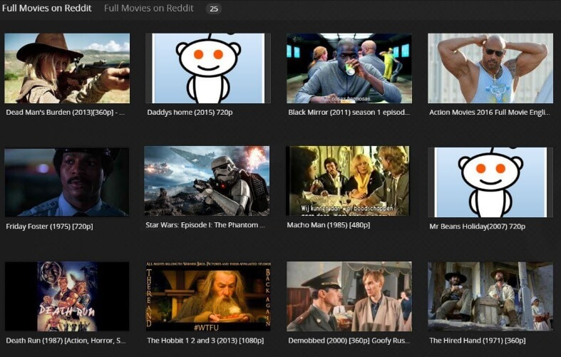 Full Movies on Reddit Plex