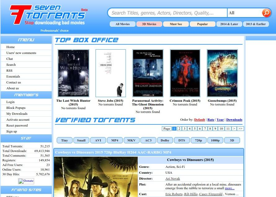 torrent site list