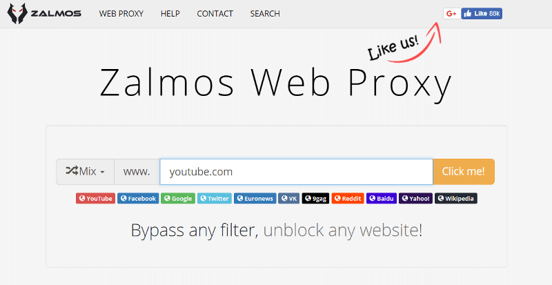 Unblock Sites Online